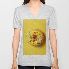 Colorful Donut Unisex V-Neck