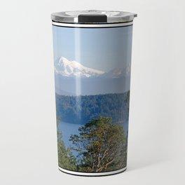 MOUNT BAKER FROM ZEE HILL ORCAS ISLAND Travel Mug