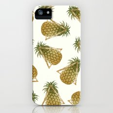 Pineapple and Triangles Slim Case iPhone (5, 5s)