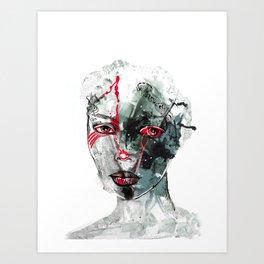 Portrait 11 Art Print