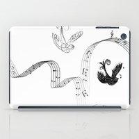 nicolas cage iPad Cases featuring Cage by Nato Gomes