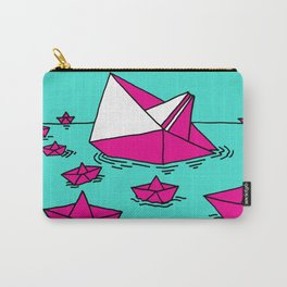 Paper Ships at Ocean Carry-All Pouch
