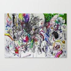 Angry Spirits of Arthur McDuffie Canvas Print