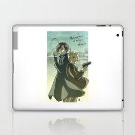 Sherlock Holmes and John Watson - The Game is On Laptop & iPad Skin