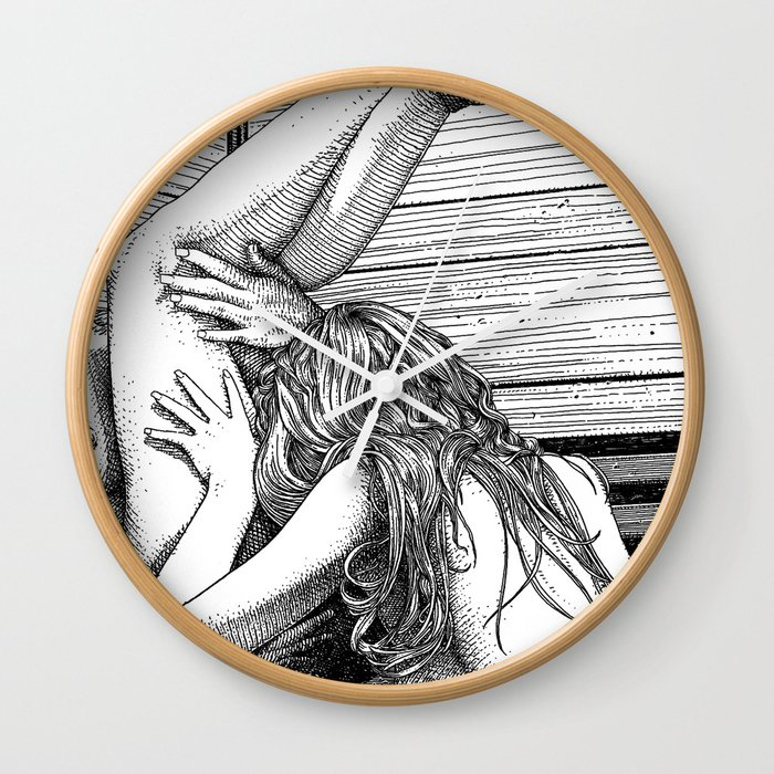 asc 685 - Les jambes en l'air (Tonight so high with you) Wall Clock