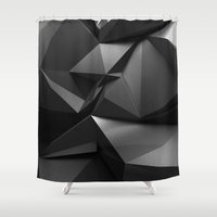 crow Shower Curtains featuring Crow by Ilya Konyukhov