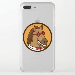 Nerd, Nerd, Nerd Clear iPhone Case