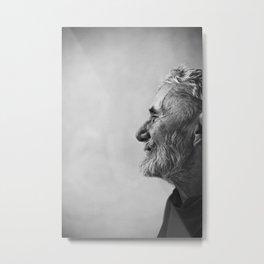 Old man portrait Metal Print