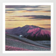 Aubergine Requiescence Art Print