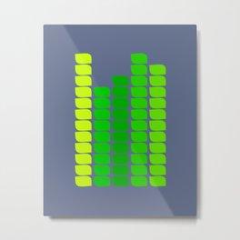 Green Towers Metal Print