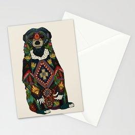 sun bear almond Stationery Cards