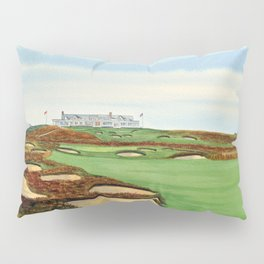 Shinnecock Hills Golf Course With Clubhouse Pillow Sham