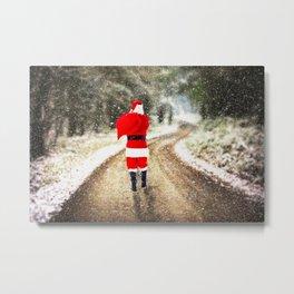 December Delivery Metal Print