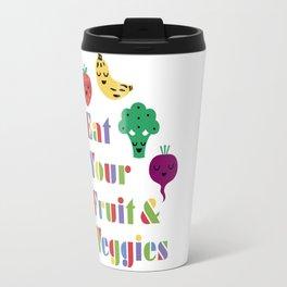 Eat Your Fruit and Veggies 3 Travel Mug