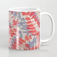 iggy Mugs featuring Iggy Palms by Gukuuki Studio