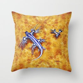 The Glaucus Buddies Throw Pillow