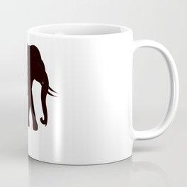 Black elephant logo Coffee Mug