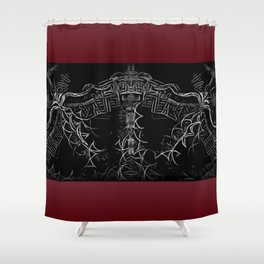 Petrarch's Argument Shower Curtain