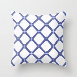 Classic tile Throw Pillow