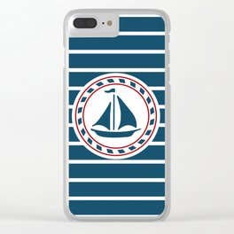 Sailing boat Clear iPhone Case