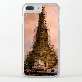 Wat Arun(Temple of Dawn) Clear iPhone Case