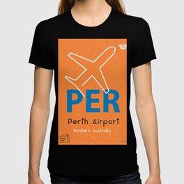 PER Perth airport code T-shirt
