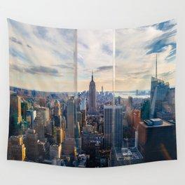 Manhattan, New York City Wall Tapestry