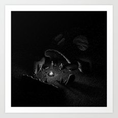 Drawlloween 2016: Skull Art Print