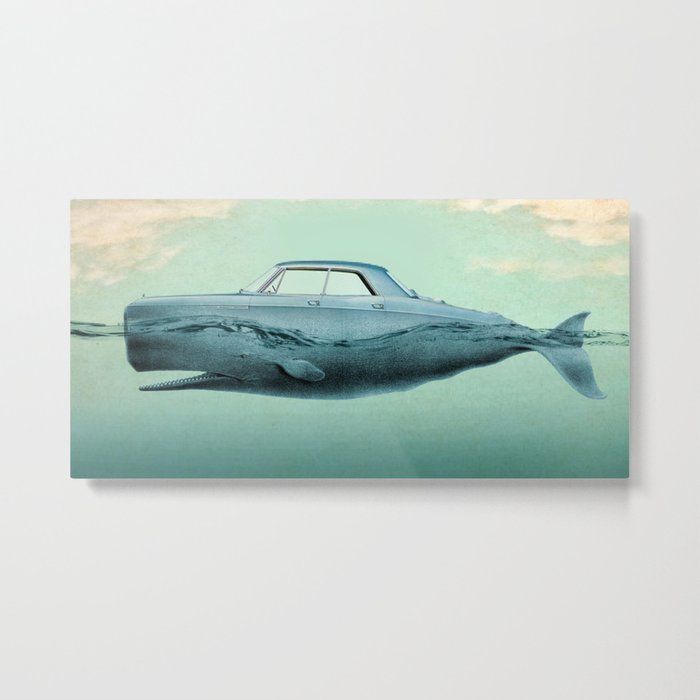 the Buick of the sea 02 Metal Print