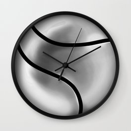Esfera de metal Wall Clock