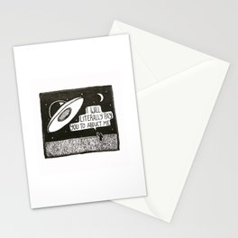 Abduct me  Stationery Cards