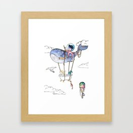 On Adventure! Framed Art Print