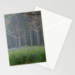 Lupines At The Forest's Edge Stationery Cards