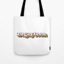 20gayteen Tote Bag