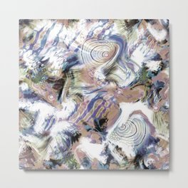 Abstraction , fish , sea 2 Metal Print