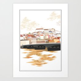Coimbra Art Print