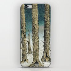 Snowy Woods iPhone & iPod Skin