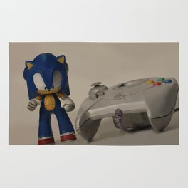 Sonic & Dreamcast Rug