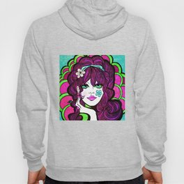 Psychedelic Flower Child Hoody