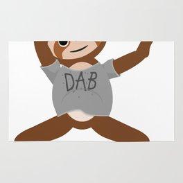 Sloth Dabbing Rug