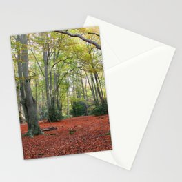 Walking Through Epping Forest Stationery Cards