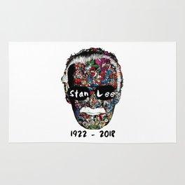 RIP Stan Lee Rug