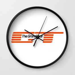 Grand Tour Wall Clock