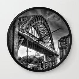Newcastle bridge Wall Clock