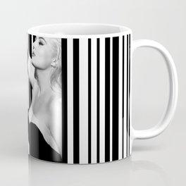 Mastroianni and Ekberg inside a barcode Coffee Mug