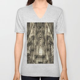 York Minster Vintage Unisex V-Neck