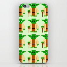 Pixel Yoda iPhone & iPod Skin