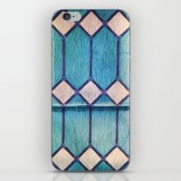 window iPhone & iPod Skins featuring window by Claudia Drossert