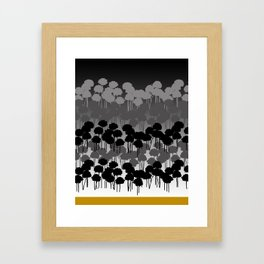 Hombre Chives Framed Art Print