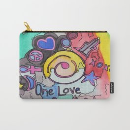 One Love One Heart Carry-All Pouch